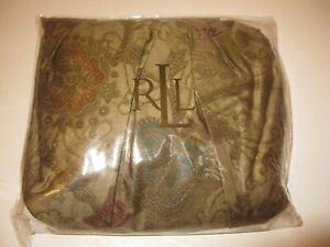 Ralph Lauren Venetian Court Tapestry King Bedskirt NIP