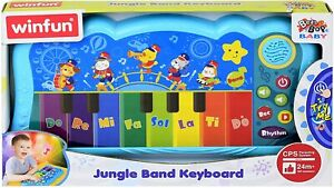 Baby Musical Keyboard Winfun Educational Fun Great Christmas Gift