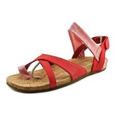 Calzado de mujer de color principal rojo de piel talla 37