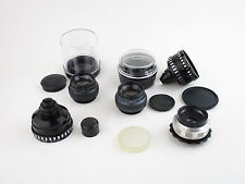 5x Objektiv lens für 8mm KMZ HT1-0,5x/2x enlarging lens Meopta Anaret Meopar