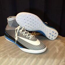 Nike Mercurialx Proximo II DF IC Soccer Wolf Grey White 831976-010 SZ 12