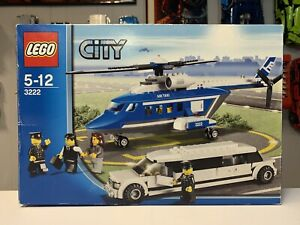 LEGO 3222 City Helicopter and Limousine, Brand New & Sealed