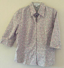 Esprit Women's Blouse - 3/4 sleeve shirt Sz 6, Super CUTE! EDC Euro Nice!