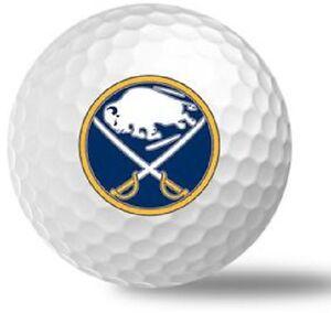 3 Dozen (Buffalo Sabres NHL Logo) Nike Mix Golf Balls