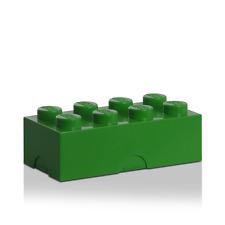 LEGO boîte goûter Vert, repas, Green lunch box, Grün Lunchpacket