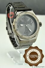 NWT Unisex Men Watch GUESS Black Stainless Steel Classic New G11918G1