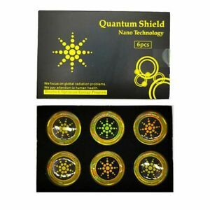 Anti Radiation Protection Sticker Quantum Shield For Cell Phone EMF Protector