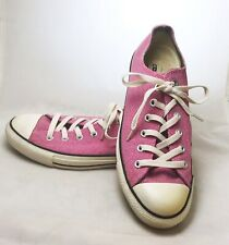 Womens Pink Textured Canvas All Star Converse Sneakers