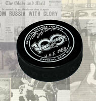 Guy Lafleur NHL 100 Years Anniversary Autographed Puck