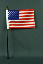 "Kleine Tischflagge USA 10x15 cm ""Basic"" mit PVC-Mast, ohne Sockel"