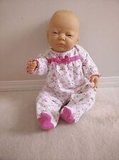Vintage Berjusa anatomically little girl doll