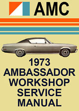 AMC AMBASSADOR WORKSHOP MANUAL