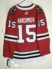 adidas Authentic Adizero NHL Jersey Chicago Blackhawks Artem Anisimov Red sz 54