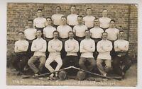 Hampshire postcard - No 4 Class Head Quarter Gymnasium, Aldershot, 1916 (A32)