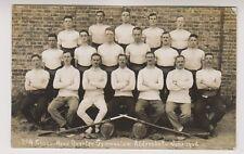 Hampshire postcard - No 4 Class Head Quarter Gymnasium, Aldershot, 1916 (Sport)