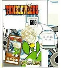 Tumbleweeds Bingo Sealed Event Tickets- Pull Tabs- Sealed Pack 720 Tickets