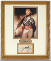 King George IV Signature JSA LOA