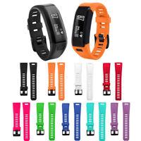Replacement Soft Silicone Bracelet Band Strap WristBand For Garmin Vivosmart HR