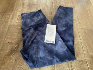 Lululemon Diamond Dye align leggings size 8 NWT