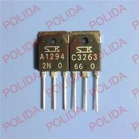 1pair 2SA1076//2SC2526 A1076//C2526 Transistor SanKen MT-200