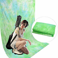 Fondale Background Professionale in Cotone Creato a Mano DynaSun W018 Ocean Blue