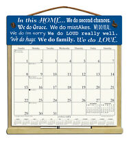 IN THIS HOME CALENDAR WITH THE REST OF 2018, 2019 & AN ORDER FORM FOR 2020.