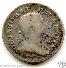 IRLANDE GEORGES III 10 PENCE TOKEN 1805 BANK OF IRELAND