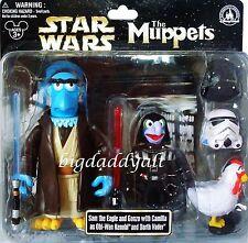 NEW Disney Star Wars Tours  Muppets Sam Eagle Obi-Wan Gonzo Darth Vader Figures