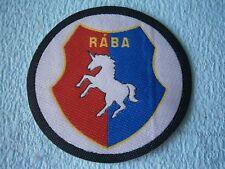 Rába patch emblem horse equestrian tractor company river Hungary Austria PFERD