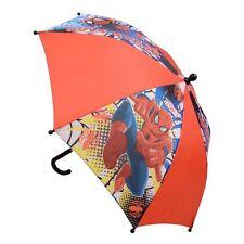 Marvel-Spider Man Spiderman Children Kids Umbrella Brolly Sun Rain New Xmas Gift