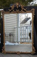 """NWOT Hickory Manor House Bevelled Gold Wall Mirror 39x26"""" Multiple Qtys"""