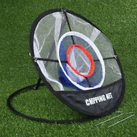Chipping Net Golf Practice Aids Golf Training for Golf Beginners Supply Portable