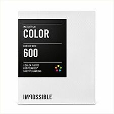 Impossible Project Instant Color Film for Polaroid 600-Type Cameras