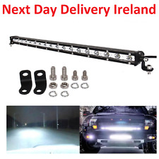 20INCH SLIM 90W CREE LED WORK LIGHT BAR SINGLE ROW LAMPS TRACTOR VAN TRUCK JEEP