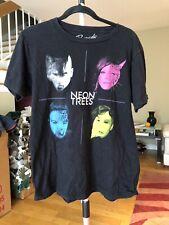 shirt men Neon Trees Large Black