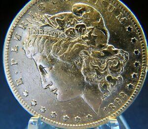 EXcellent   1892-S   MORGAN SILVER Dollar