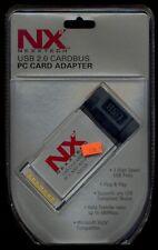 Nx Nexxtech Usb 2.0 Cardbus Pc card adapter N2Pucb