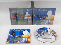 Sonic CD Sega Mega CD Complete PAL