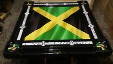 Jamaican Flag Domino Table by Domino Tables by Art