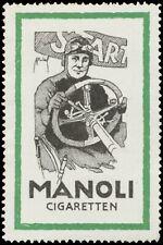 Reklamemarke Manoli Cigaretten - 455934