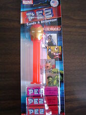 Iron Man Pez Candy Dispenser - Metallic Gold Mask - Marvel Superheroes - BP