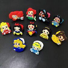 11PCS Kid Girls Rings Cartoon Princess Rings PVC Rings Party Gifts