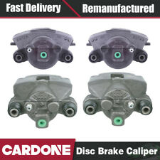 Cardone Front Rear Set (4) Disc Brake Calipers For 1994-1998 Jeep Grand Cherokee