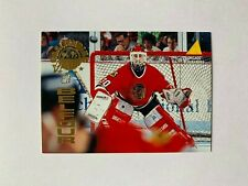1994-95 Pinnacle Goaltending Greats #GT4 Ed Belfour - Chicago Blackhawks