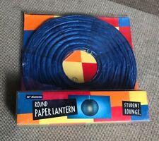 "NIB Hanging Lantern Light by Student Lounge-12"" Ball"