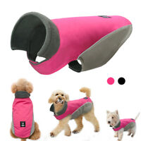 Waterproof Soft Fleece Dog Clothes Coat Jacket Fleece Lined for Small Large Dogs