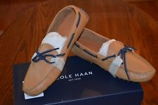 COLE HAAN Men's Gunnison II Tan Leather Driving Moc Loafers Shoes 12 M NIB $150