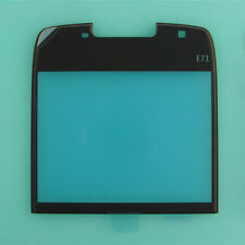Black Front LCD Screen Lens Glass Cover Window Panel Replacement For Nokia E71