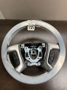 2007- 2014 GM Steering Wheel Black w/Wood Trim OEM NEW