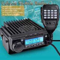 50W Power Walkie Talkie Car Radio UHF 400-407MHz 200 Channel For Baofeng BF-9500